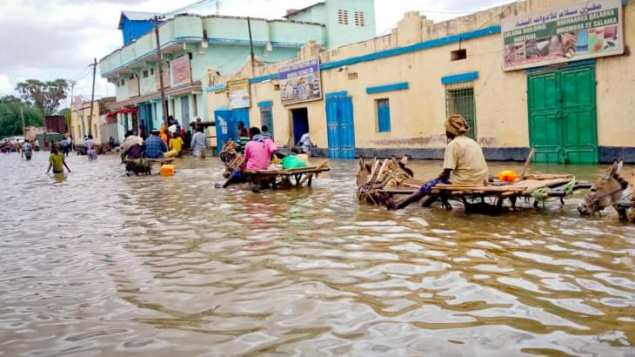 24 killed, more than 280,000 displaced by floods in Somalia: UN office