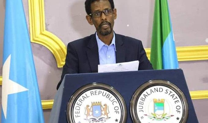 Jubbaland Accuses Federal Government of Blocking Medical Aid Bound for Gedo region.