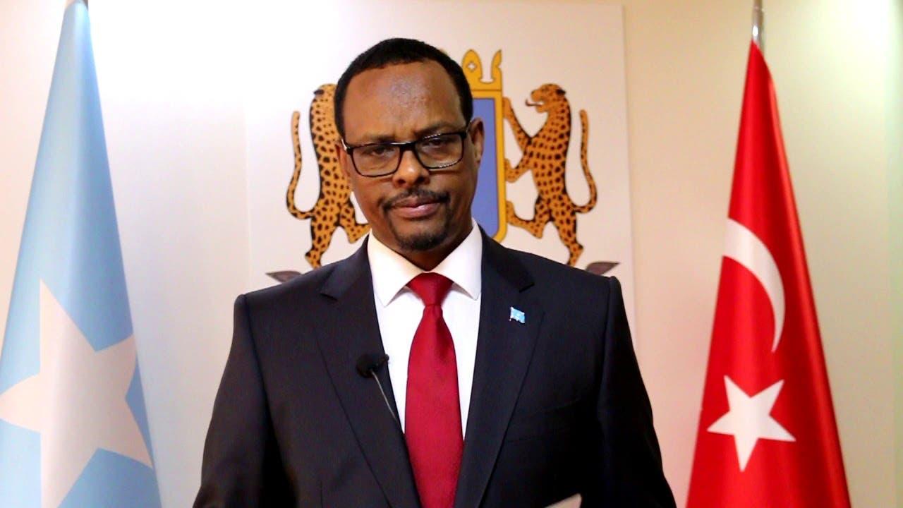 Cod laga duubay iyo arrimo uu ku lug yeeshay safiirka Soomaaliya ee Turiga oo ka carreysiiyey Villa Somalia