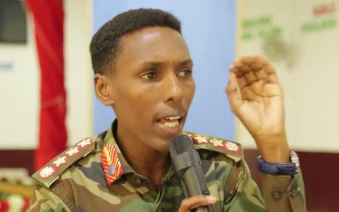 Somali National Army chief Denies Accusations over the killing of Health Workers in Somalia