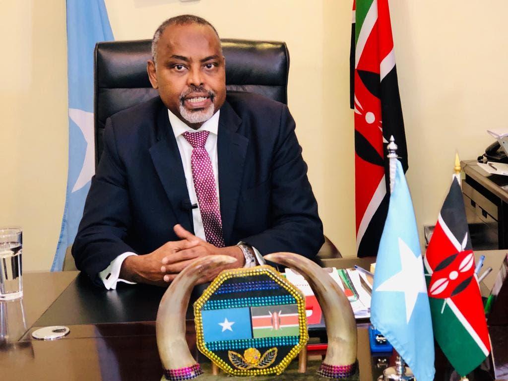 Maxaa ka jira arrinta laga faafiyey safaarada Somalia ee Kenya, yaase ka dambeya?