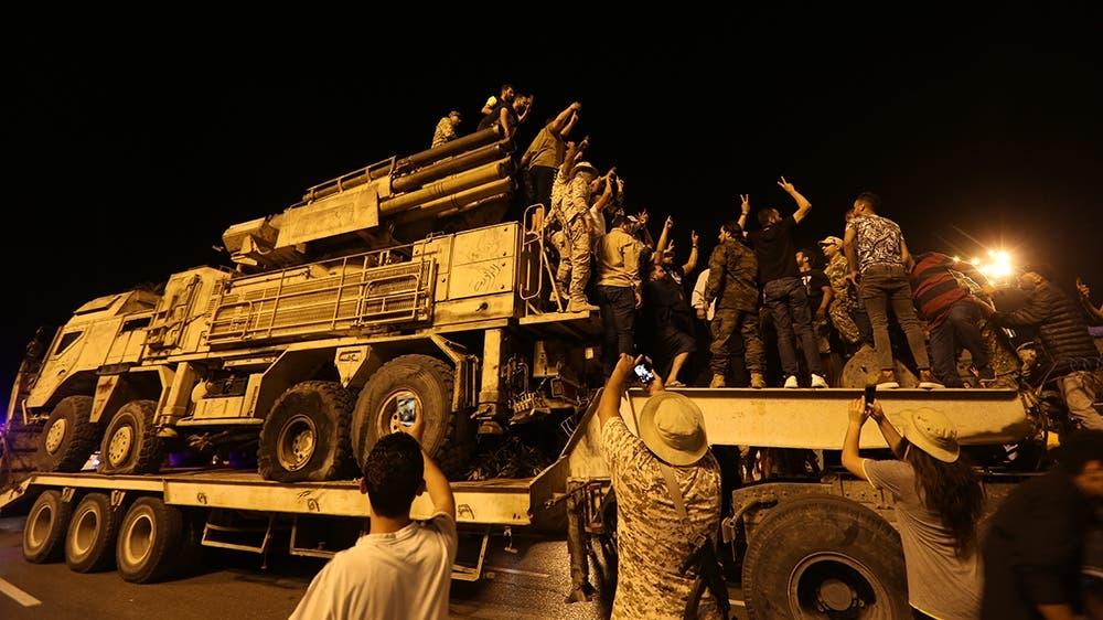 Dagaal-yahanno Russian ah oo taageerayey KHALIIFA Xaftar oo ka cararay Tripoli