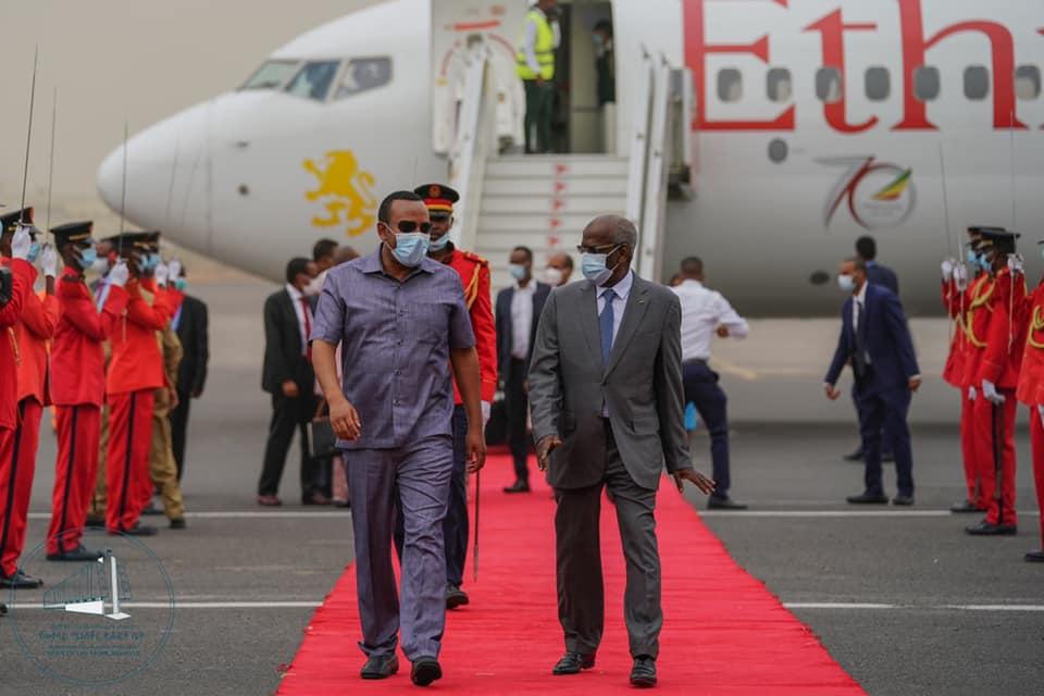 Sawirro: Abiy oo ka dagay Jabuuti, qeybna ka ah shirka Soomaaliya iyo Somaliland