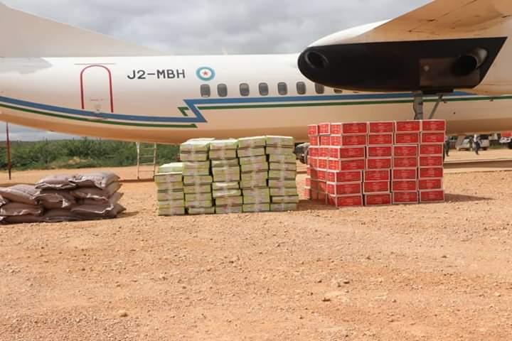 Djibouti sends Humanitarian aid to flood-hit people in Beledweyne