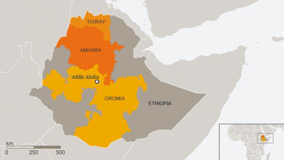 Ethiopia oo shaaca ka qaaday hay'ado 'rabay' in si hoose ay hub u geliyaan Tigray