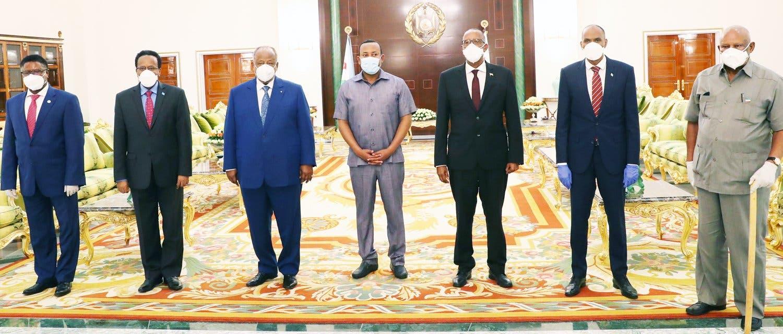 Wada-hadallada Somalia iyo Somaliland oo si rasmi ah u furmay maanta + Sawirro