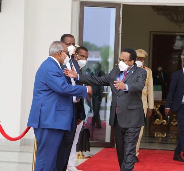 Talooyin ku socda madaxda DF Somalia oo ku aaddan wada-hadallada Somaliland