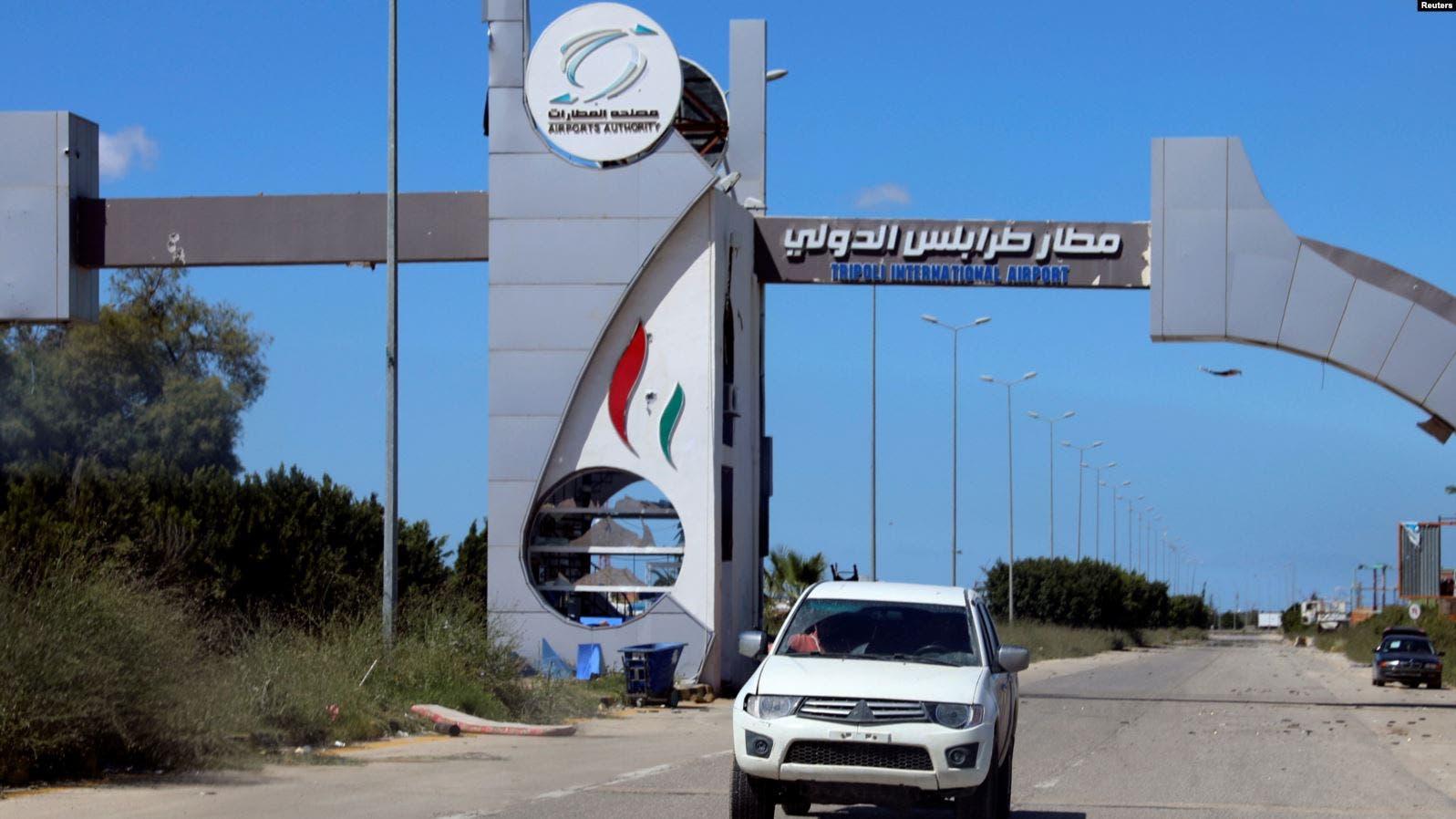 Ciidamada Khalifa Xaftar oo laga qabsaday garoonka Tripoli lagana saaray caasimadda