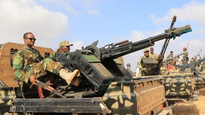 Heavy fighting erupts between Somali army, Al-Shabaab in southern Somalia