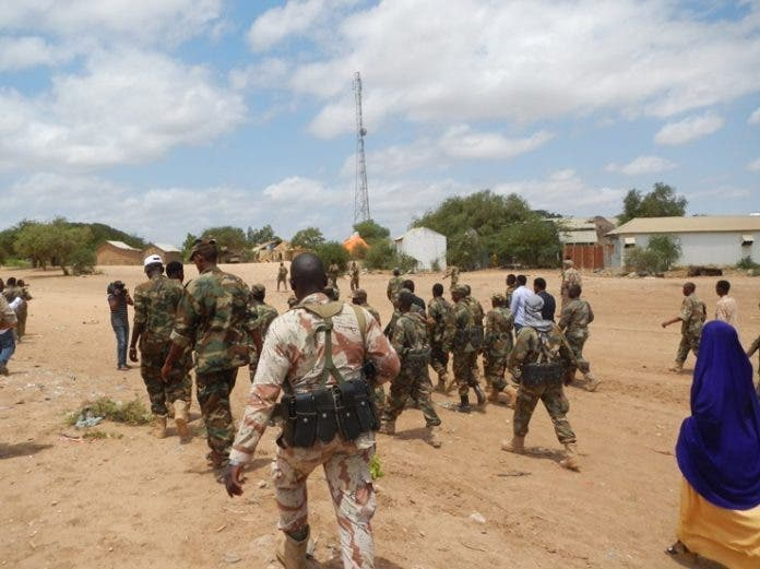Heavy fighting reported in Somalia's Middle Shabelle region