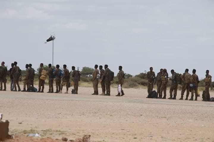 Sawirro: Ciidanka Haramcad oo laga saaray Dhusamareeb