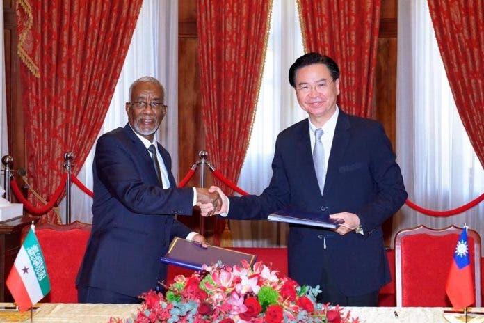 Taiwan oo ka gaabsatay aqoonsiga SOMALILAND