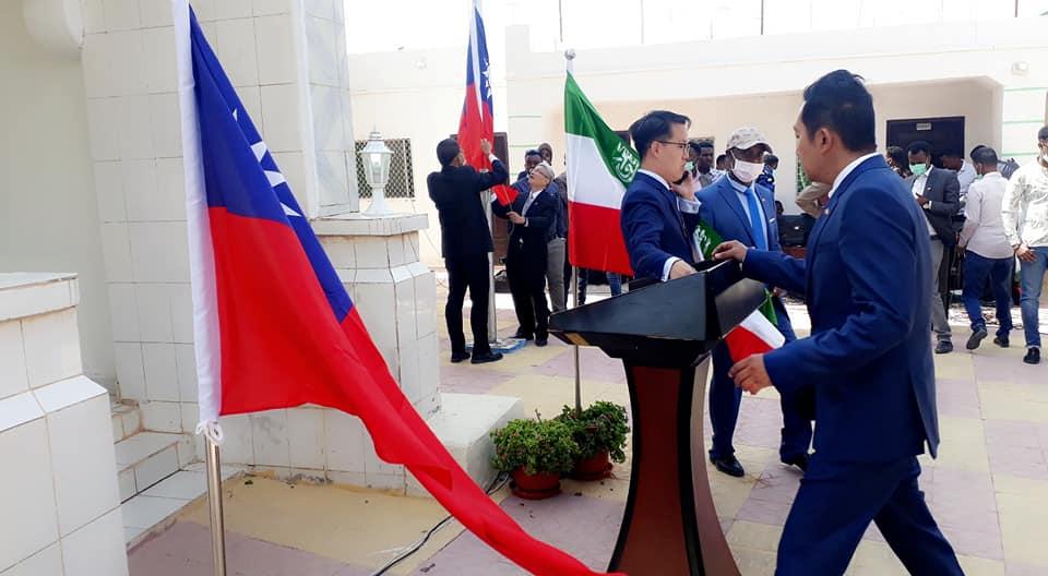 Sawirro: Taiwan oo si rasmi xafiis uga furatay Hargeysa