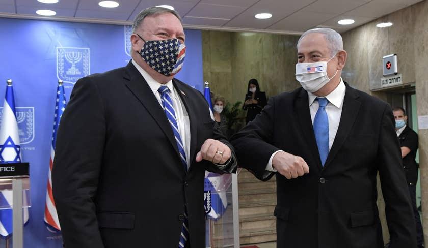 Pompeo iyo Netanyahu oo waxba kama jiraan kasoo qaaday rajo ay Imaaraadka ka lahaayeen Mareykanka