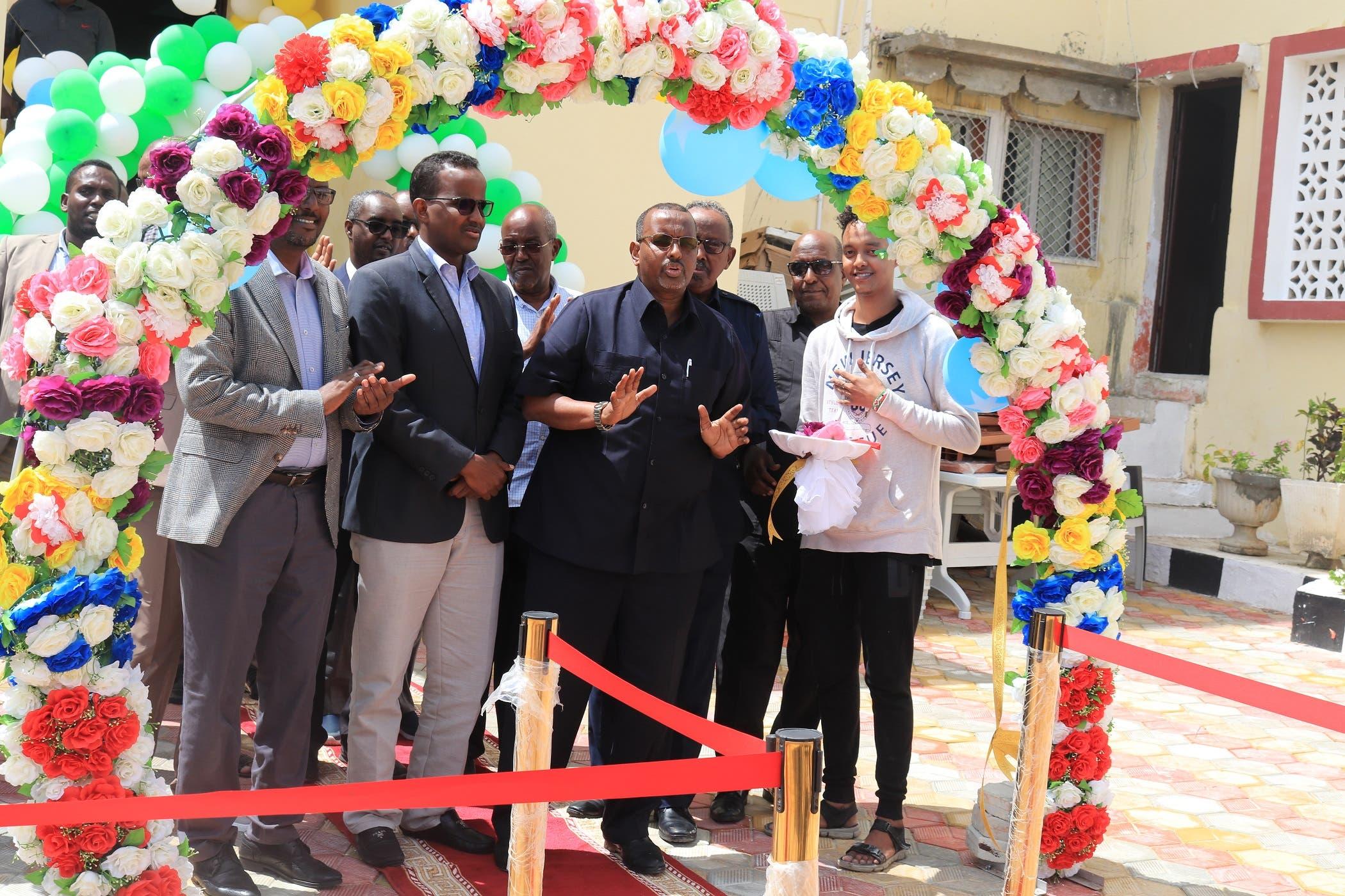 Sawirro: Laba sano kadib Hotel Saxafi International oo maanta dib loo furay