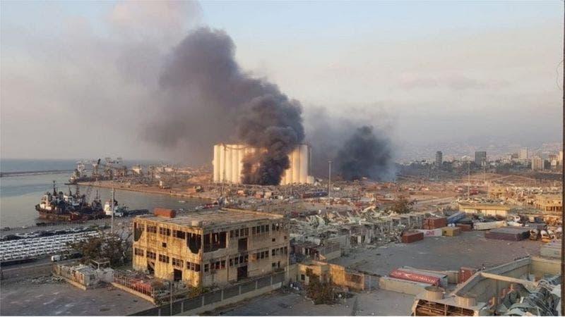 DF Somalia oo ka hadashay qaraxyadii ka dhacay Beirut