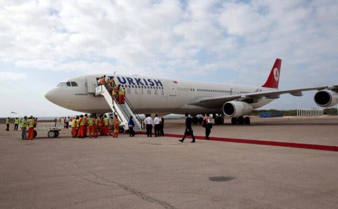 Ciladii qabsatay diyaaradda Turkish Airlines ee maanta lagu soo celiyay Muqdisho oo faahfaahin laga bixiyay