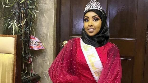 Sahra Abuukar oo Soomaali ah ayaa ku guuleysatay tartanka quruxda ee USA