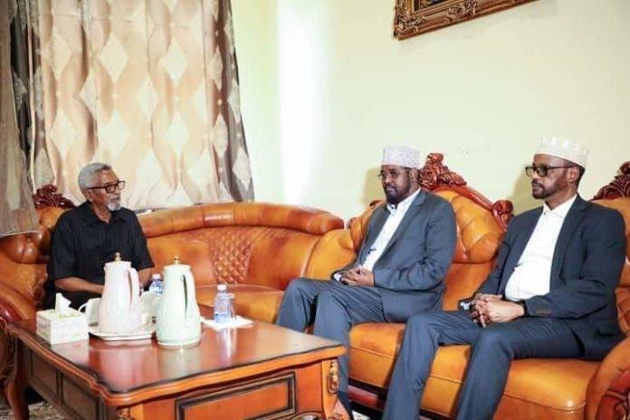 Sawirro: Axmed Madoobe oo kulan xasaasi ah la leh guddoonka Aqalka Sare