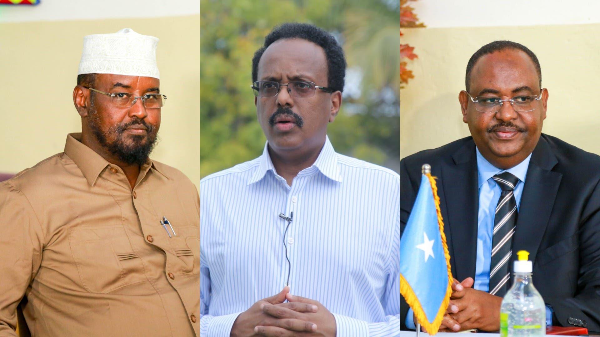 Madaxweynaha Somalia oo farriin u diray Axmed Madoobe & Siciid Deni