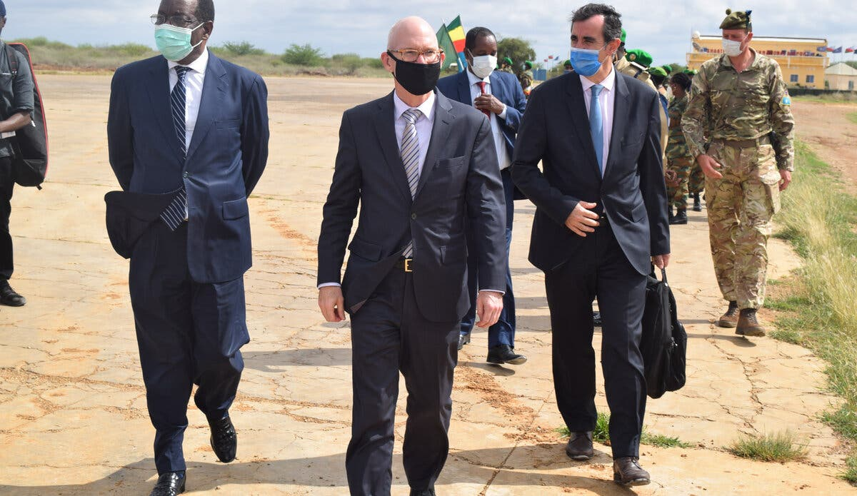 On Baidoa visit, International Representatives discuss elections, security and economic issues