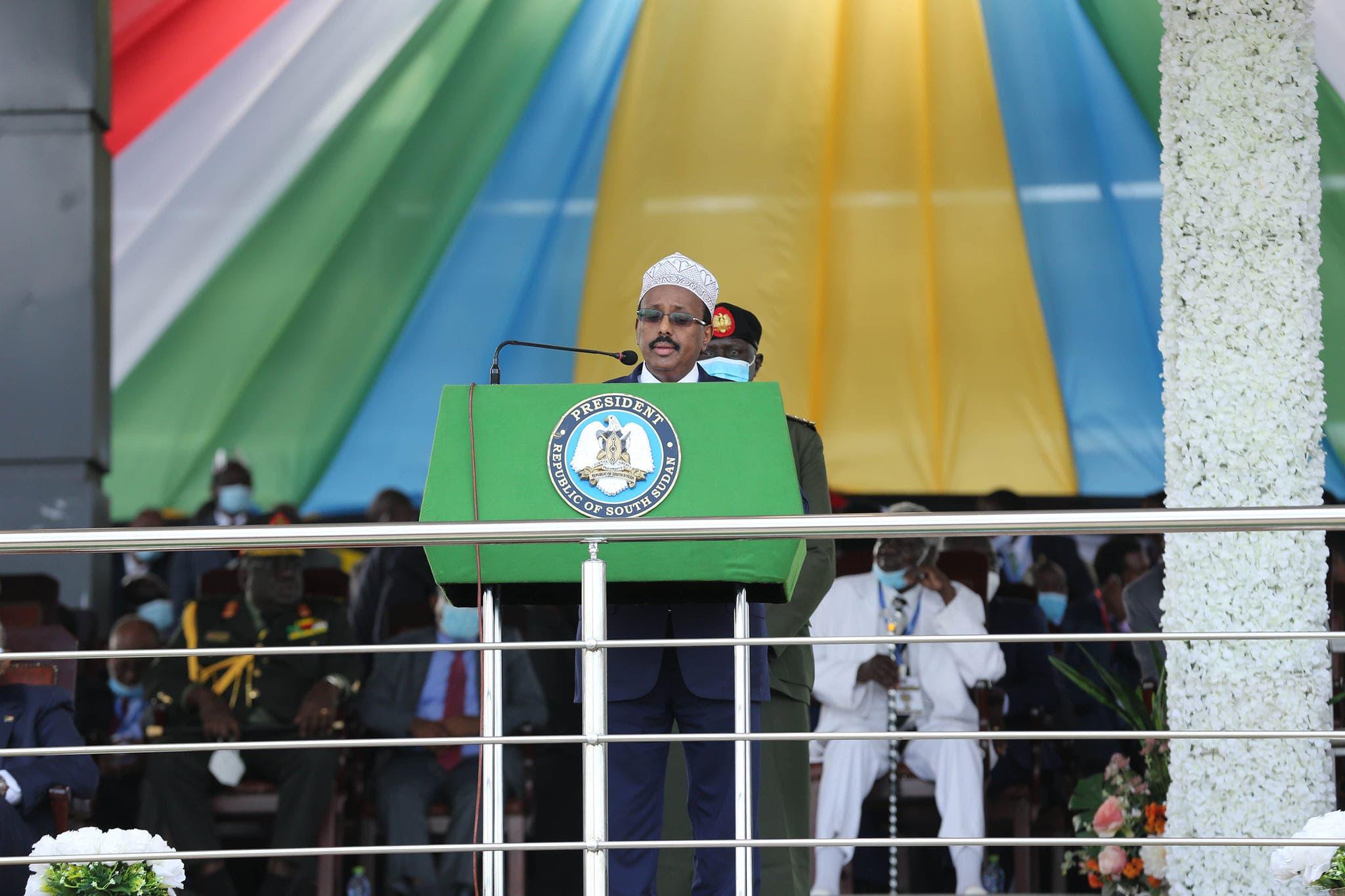 Madaxweyne Farmaajo oo reer Sudan uga digay arrin ku dhacday Soomaaliya
