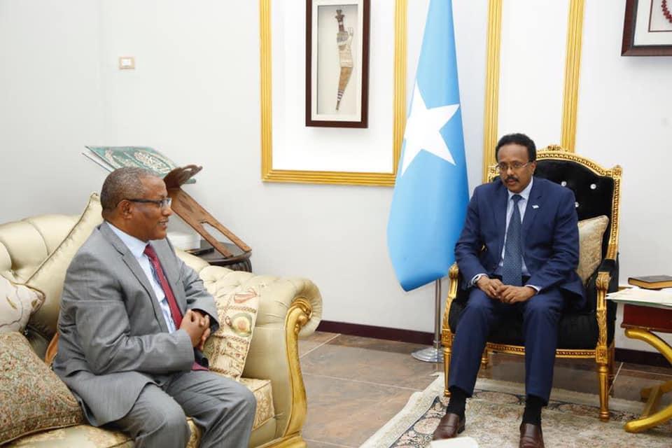 Villa Somalia oo ka hadashay war ay faafisay Itoobiya kadib wafdigii shalay yimid Muqdisho