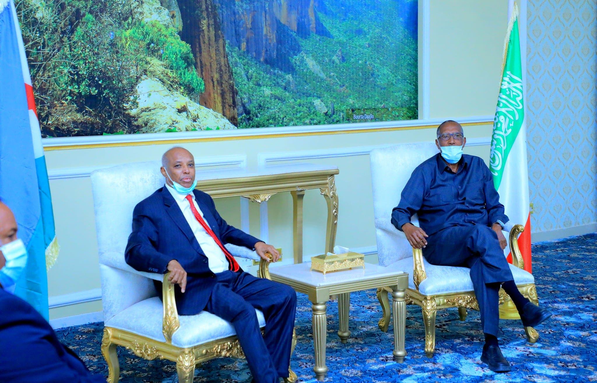 Wafdi ka socda Jabuuti oo gaaray Somaliland + Ujeedka