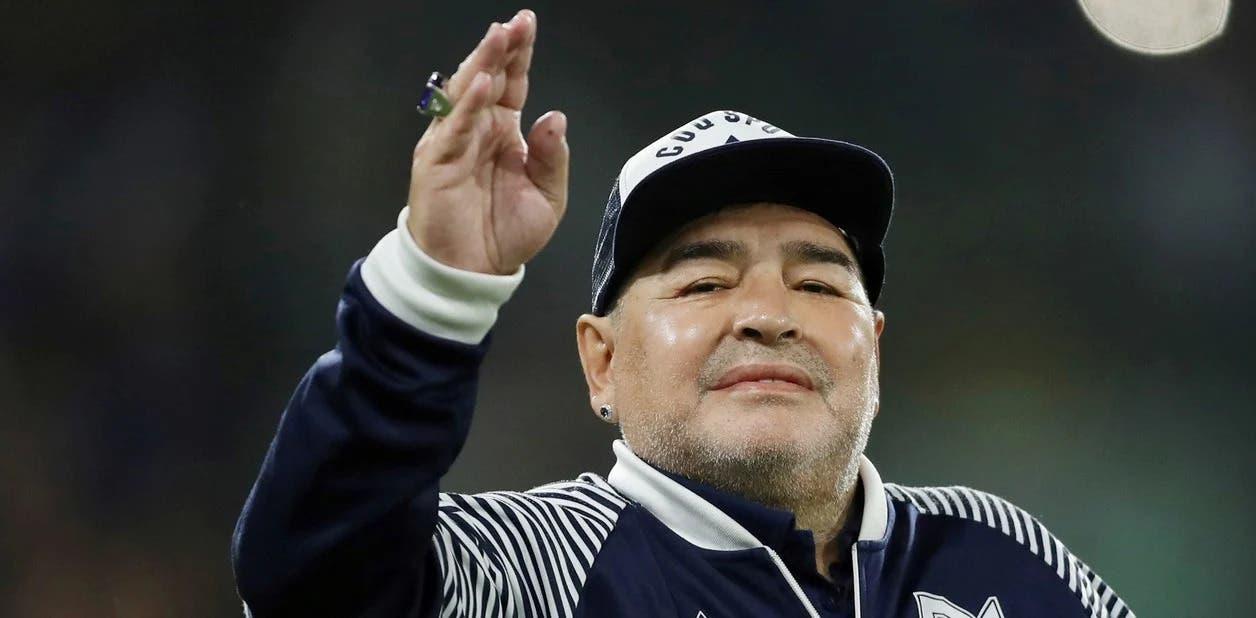 Laacib hore, Diego Armando Maradona oo geeriyooday