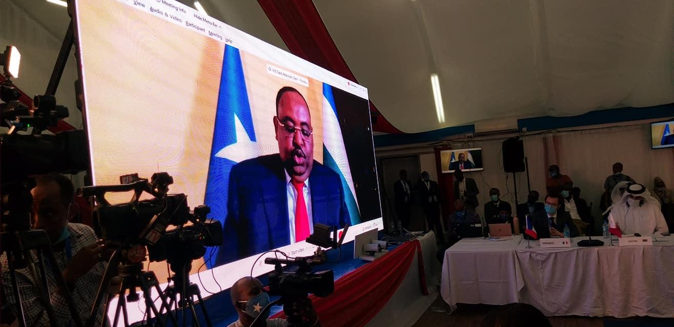 Sawiro: SICIID DENI oo tabashadooda ku soo bandhigay Madasha Somalia