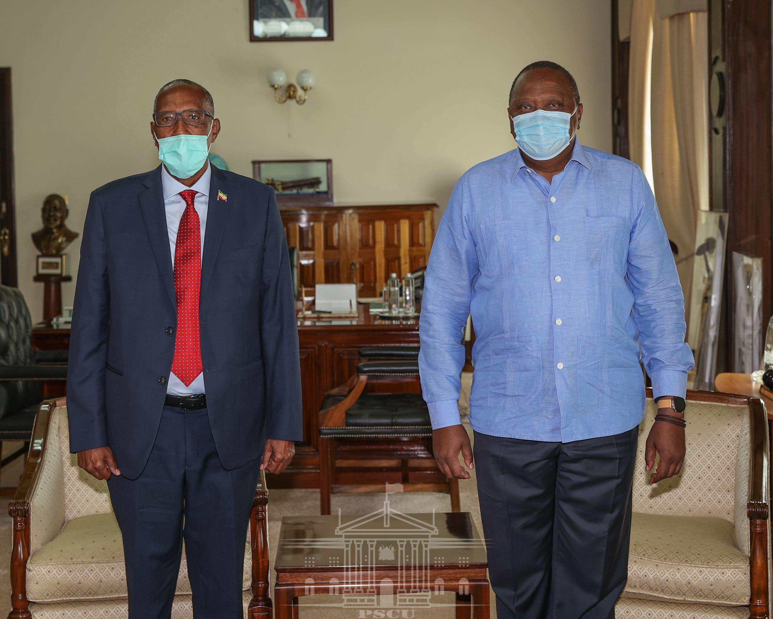 DEG DEG: Uhuru iyo Muuse Biixi oo heshiisyo gaaray iyo Kenya oo ogolaatay qodobo xasaasi ah