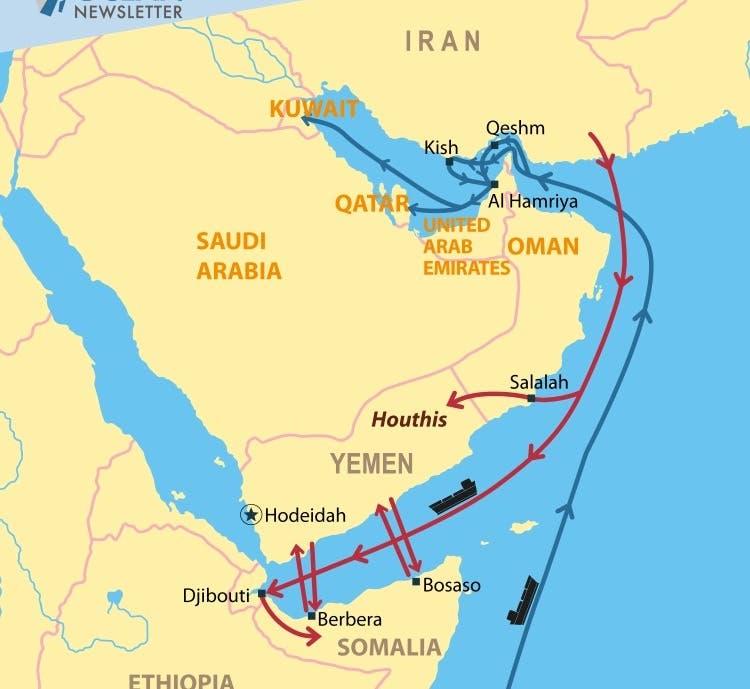 Koox Soomaali ah oo la shaaciyey inay hubka u kala gudbiyaan Iran iyo Yemen