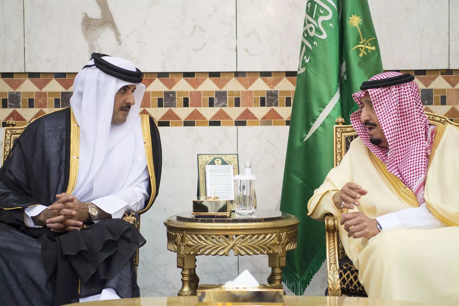 Xiisadda dalalka Qatar 🇶🇦 iyo Sacuudiga 🇸🇦 oo uu is-beddel weyn kusoo kordhay