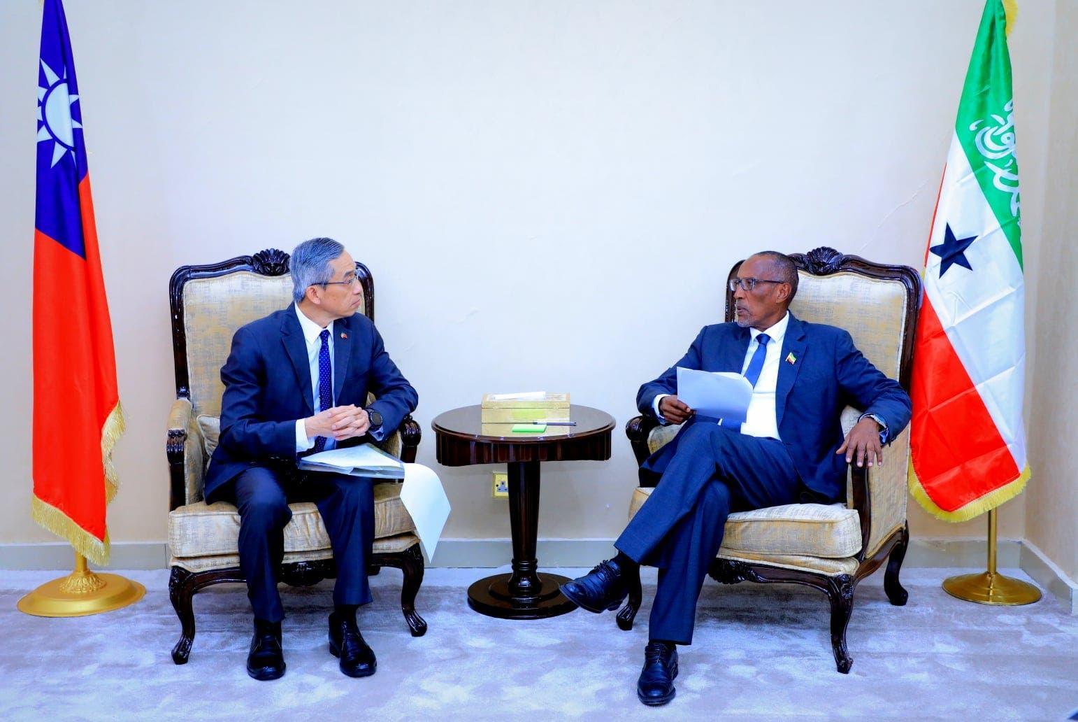 Taiwan iyo Somaliland oo bilaabay fulinta 'qeyb ka mid ah' heshiiski buuqa dhaliyay