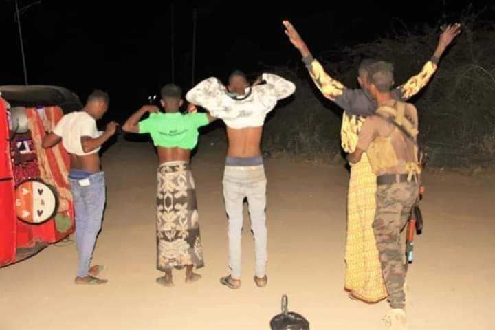Sawirro: Xubno ka tirsan Al-Shabaab oo 'laga baadi goobayo' Jowhar