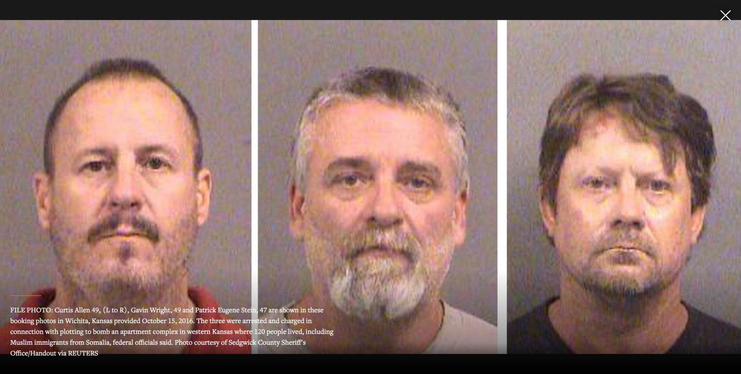 U.S. appeals court upholds prison sentences for men who plotted to bomb Kansas Somalis
