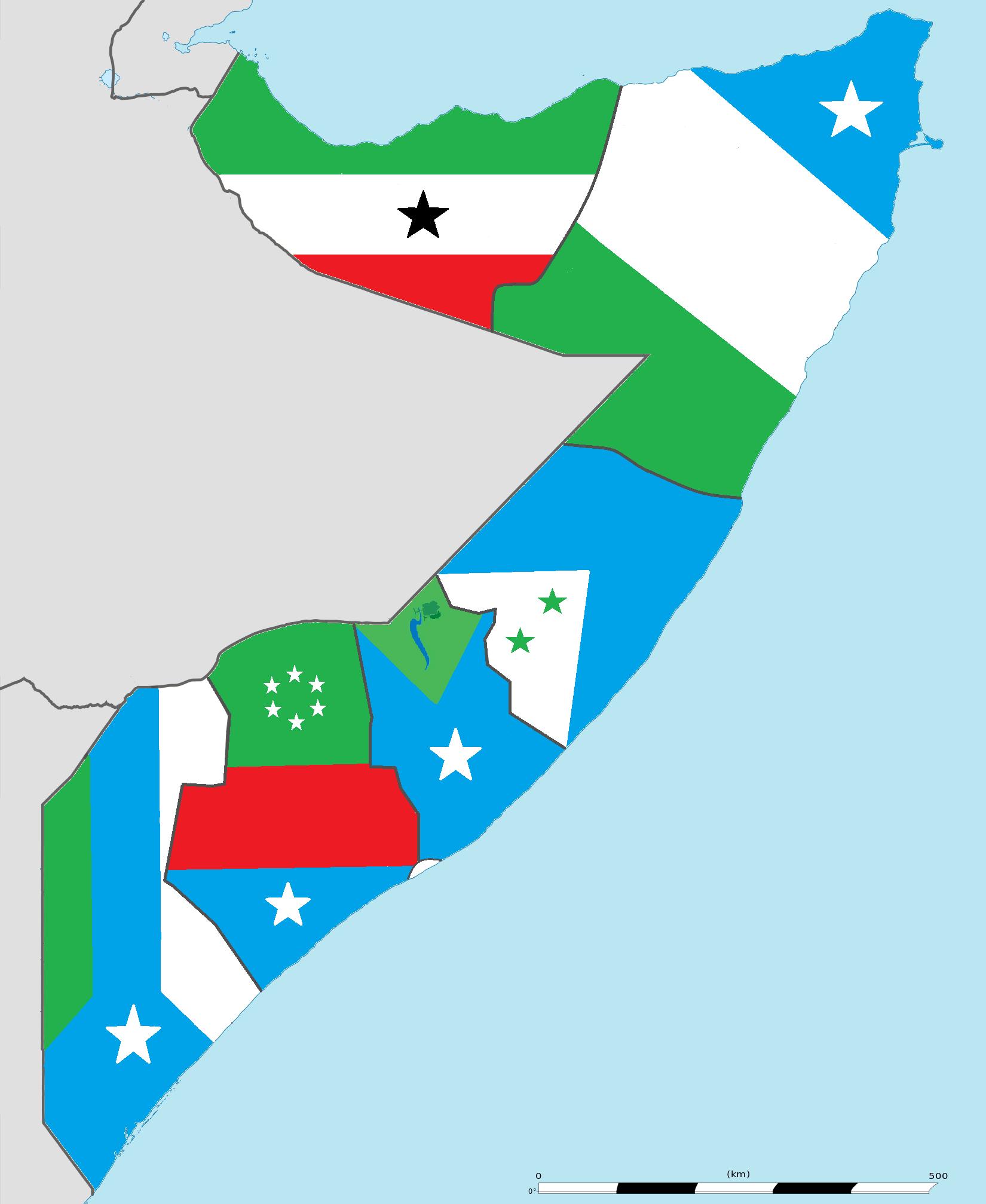 Qaybi oo xukun: Federaalka qabyaaladeysan ee Somalia
