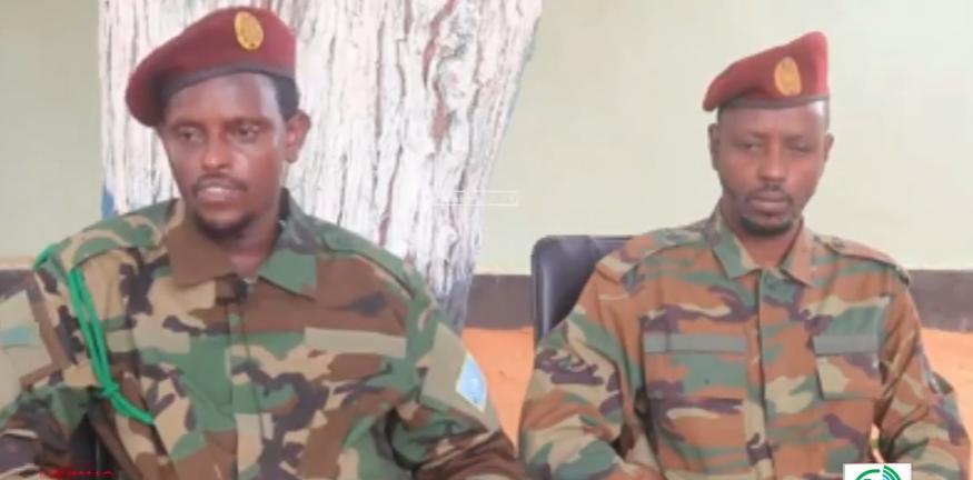 Daawo: Saraakiil iyo askar ka tirsanaa Jubaland oo isu dhiibay DF, xog-na bixiyey