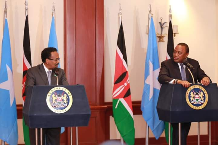 Kenya ma waxay dacwada badda dib ugu dhigeysaa su'aal ay ka qabto sharci ahaanshaha DF Somalia?