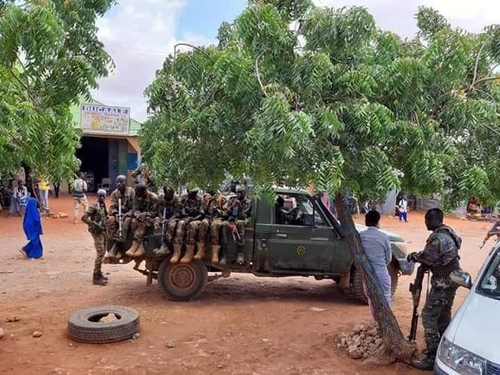 DFS iyo Al-Shabaab oo si is khilaafsan uga hadlay dagaal ka dhacay gobolka Gedo