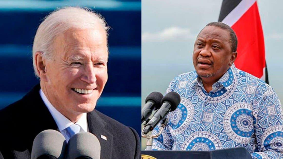 Aqalka Cad oo shaaciyey arrimo ay ka wadahadleen Joe Biden iyo Uhuru Kenyatta
