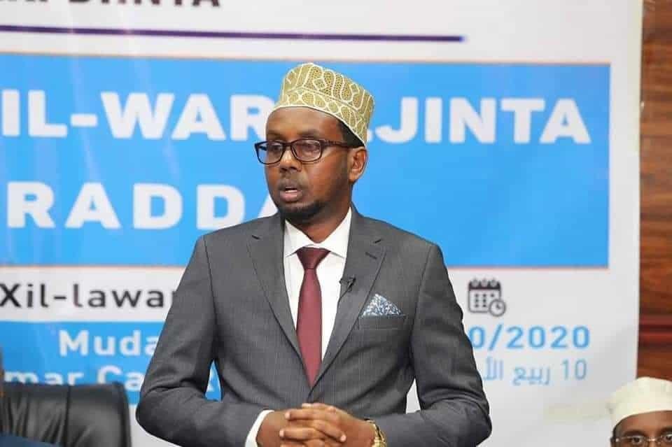 Wasiir ka tirsan DF Somalia oo laga helay COVID-19