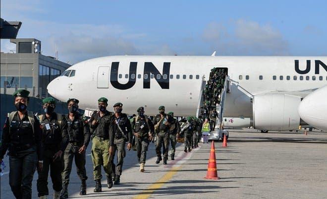 Dowladda Nigeria oo ciidan horleh u soo dirtay Somalia
