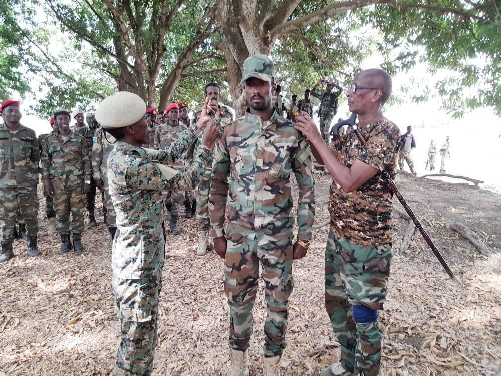 Sawiro: DF oo abaal-marisay ciidamadii Al-Shabaab kula dagaalamay Awdheegle