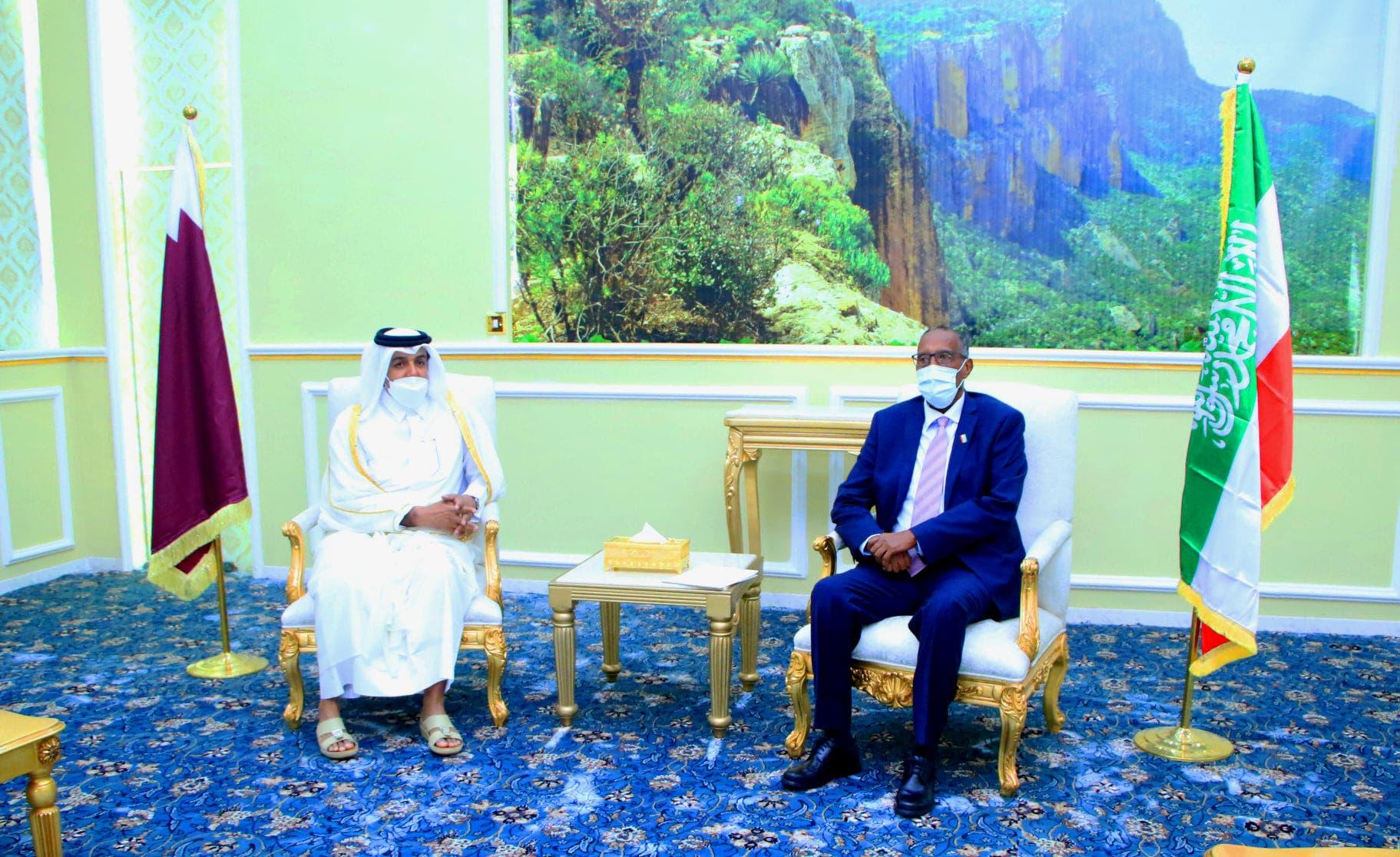 Qatar oo ka codsatay Muuse Biixi inay dhex-dhexaadiso DF iyo Somaliland + Jawaabtiisa