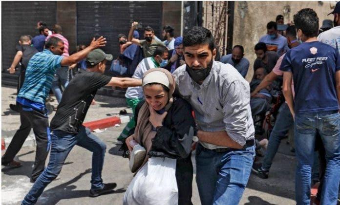 DF oo si kulul u cambaareysay weerarkii Israel ee Al-Aqsa