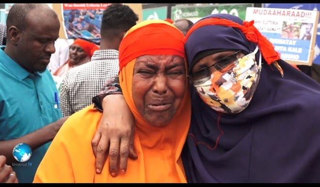 Somali parents take to streets over 'missing' army recruits
