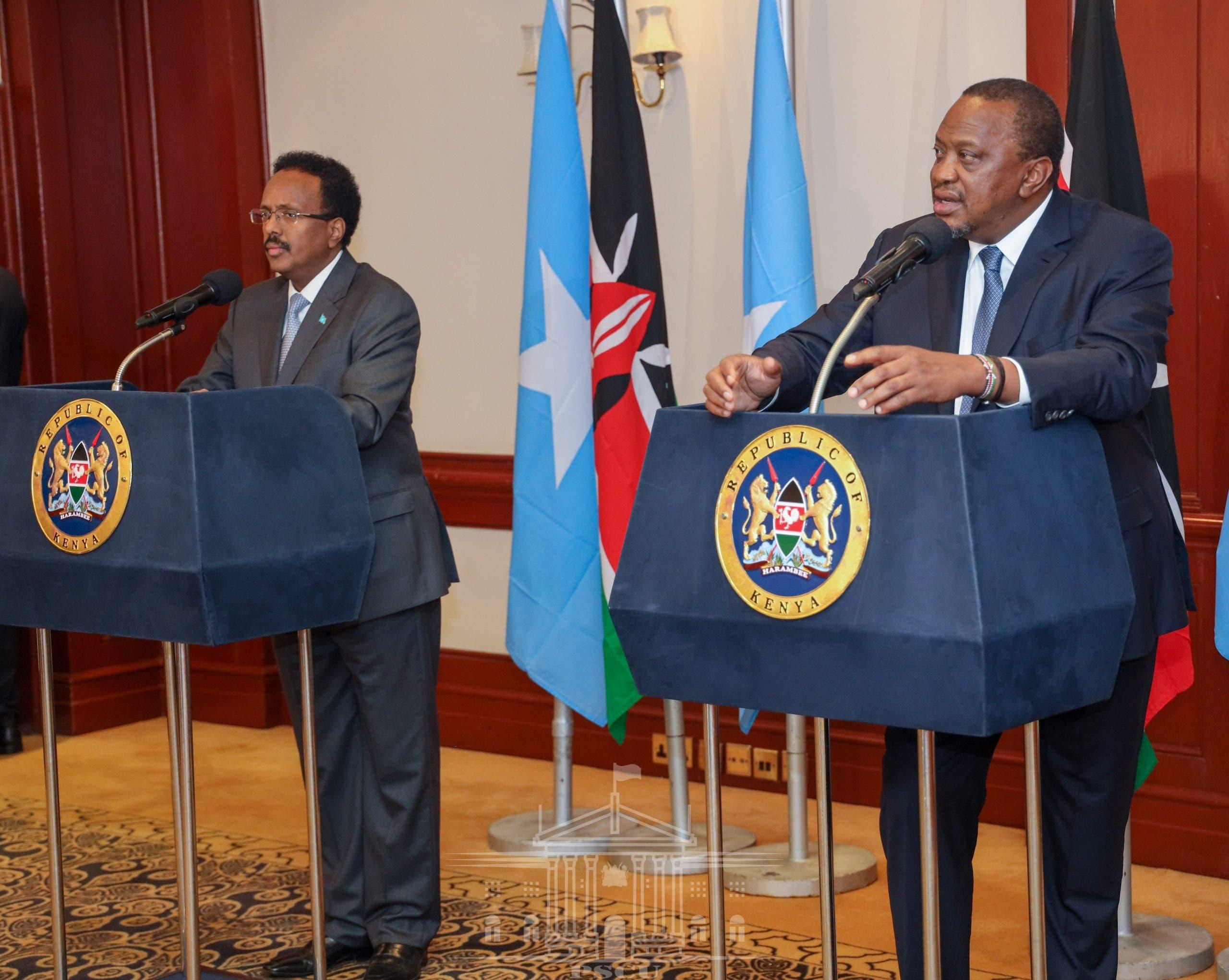 """""""Kenya oo quus ayey taagan tahay"""" – Jawaabta Somalia ee hanjabaadda ka timid Kenya"""