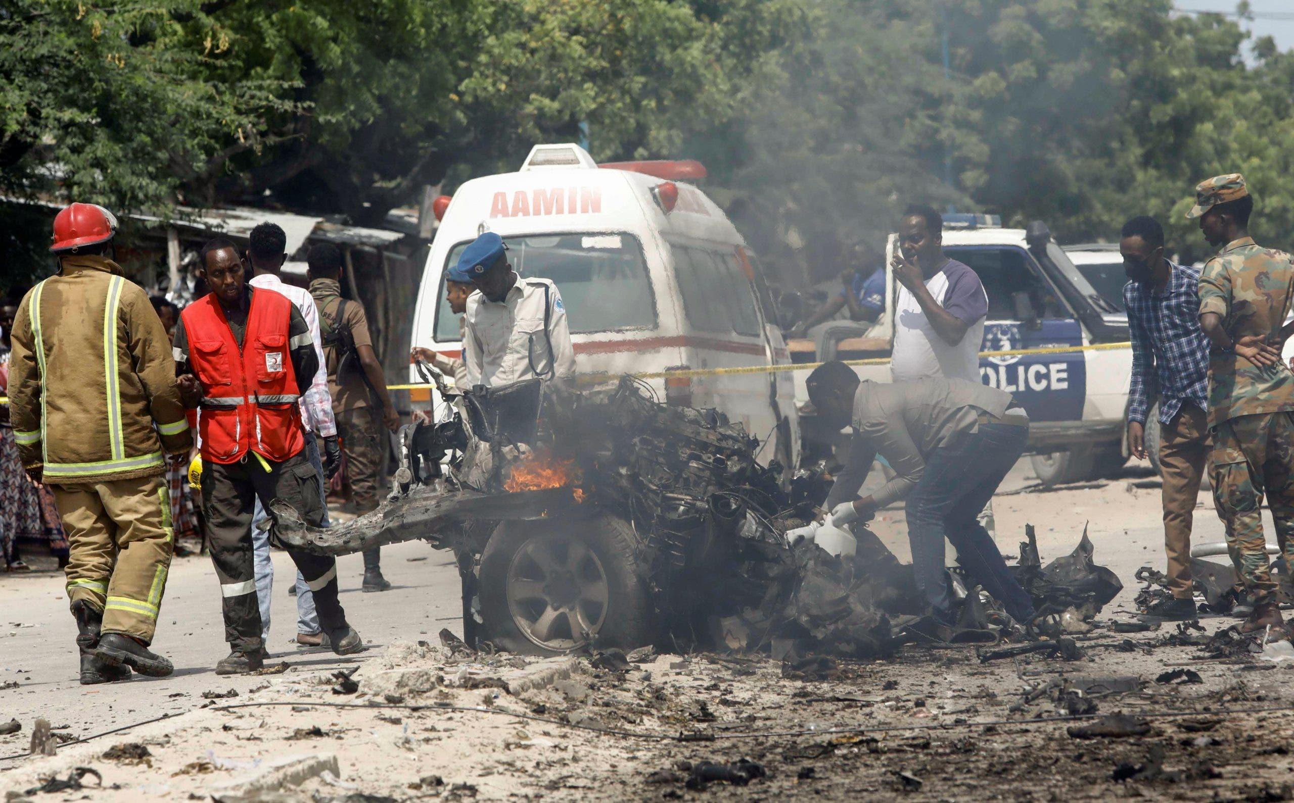 Extremist attack in Somalia's capital kills at least 9