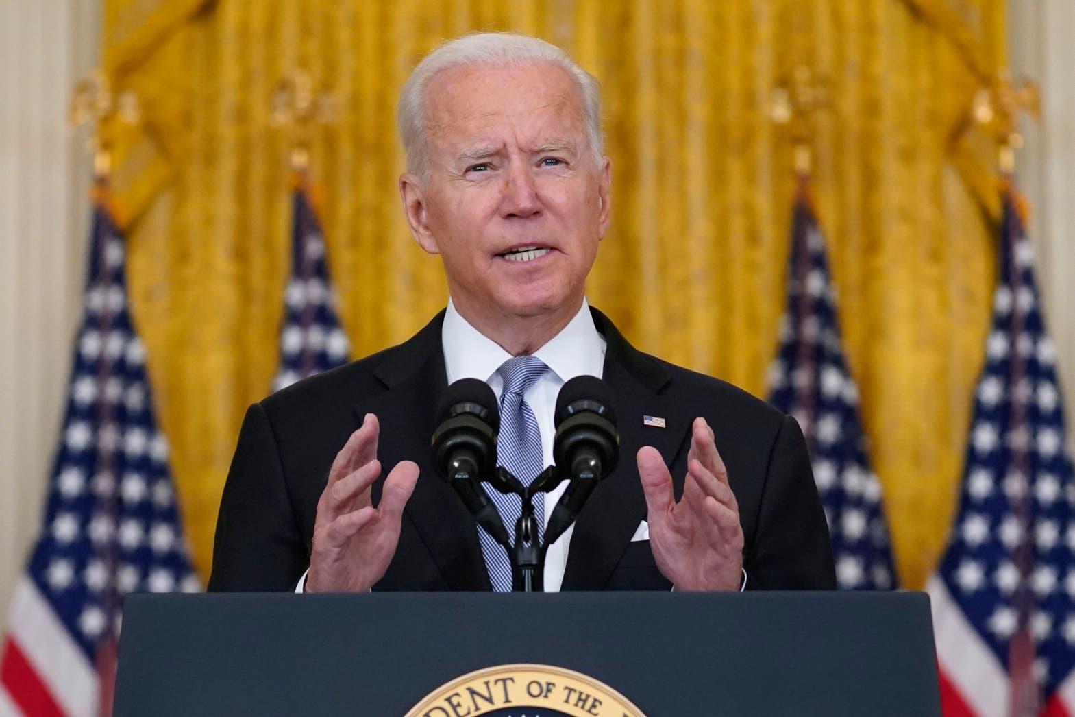 Joe Biden oo si yaab leh uga hadlay xaaladda Afghanistan, jeediyey hanjabaad cusub
